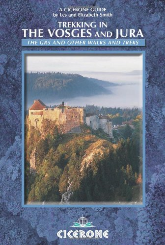 9781852844349: Trekking in the Vosges and Jura: The GR5 and Other Walks and Treks (Cicerone International Walking)