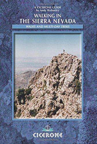 9781852844356: Walking in the Sierra Nevada: Walks and multi-day treks (Cicerone Mountain Walking)