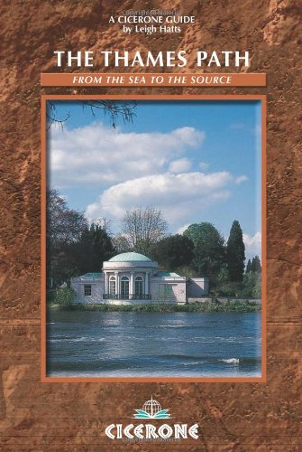 9781852844363: The Thames Path: From London to Source (Cicerone Mountain Walking)
