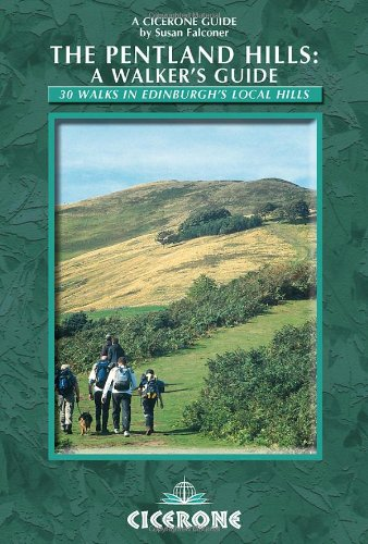 9781852844943: The Pentland Hills: A Walker's Guide: 30 walks in Edinburgh's local hills (Cicerone guides)
