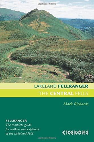 9781852845407: The Central Fells (Lakeland Fellranger)