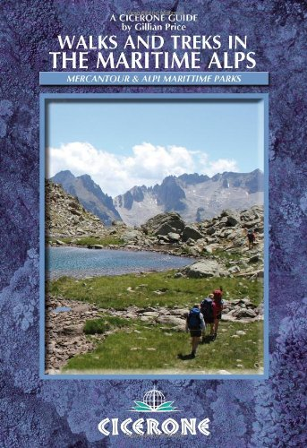 **Walks and Treks in the Maritime Alps (Cicerone Guide): Gillian Price