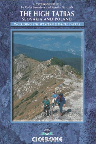 9781852846824: The High Tatras: Slovakia and Poland - Including the Western Tatras and White Tatras (Mountain Walking) (Cicerone Guides)