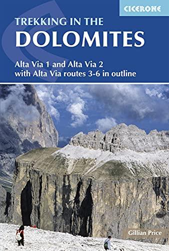 9781852848200: Trekking in the dolomites