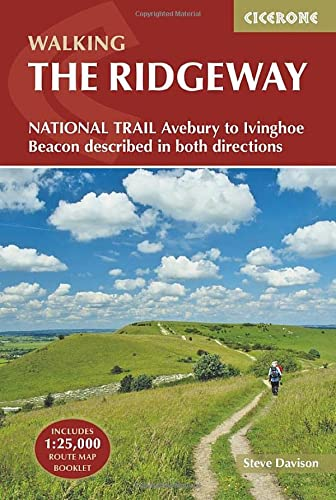 9781852848743: The Ridgeway National Trail: Avebury to Ivinghoe Beacon, Described in Both Directions (Includes separate OS 1:25K map booklet) (British Long Distance)