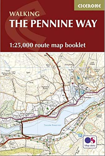 9781852849078: Pennine Way Map Booklet: 1:25,000 OS Route Mapping (British Long Distance)