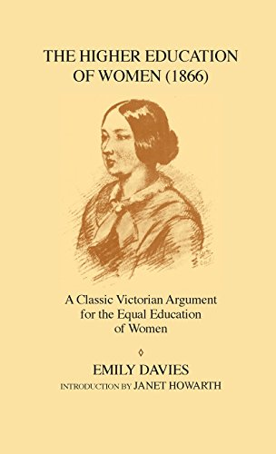 9781852850081: The Higher Education of Women, 1866