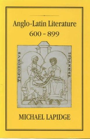 9781852850111: Anglo-Latin Literature, 600-899