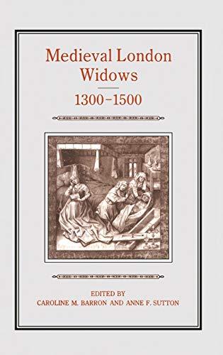 9781852850852: Medieval London Widows, 1300-1500