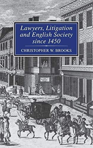9781852851569: Lawyers, Litigation & English Society Since 1450