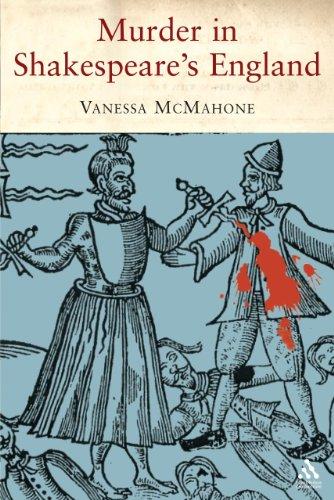 Murder in Shakespeare s England (Hardback): Vanessa McMahon