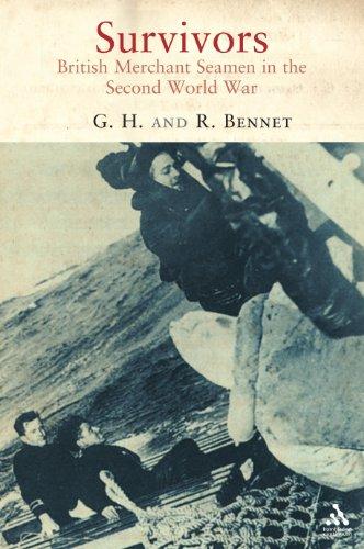 9781852855475: Survivors: British Merchant Seamen in the Second World War
