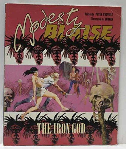 9781852860264: Modesty Blaise: Iron God Bk. 7