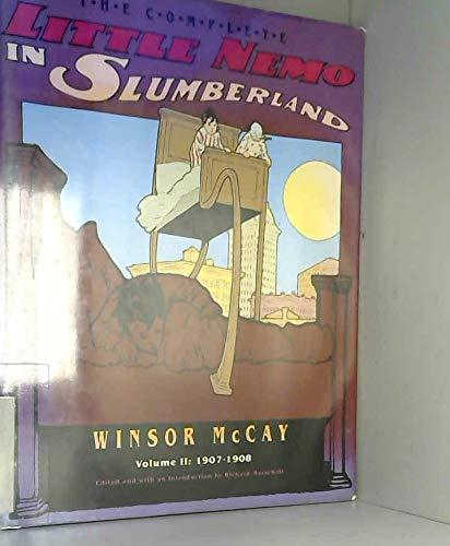 The Complete Little Nemo in Slumberland: v. 2: McCay, Winsor
