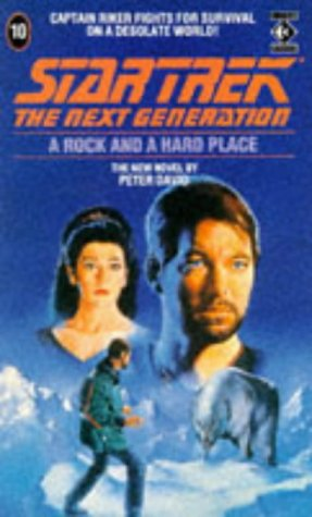 9781852862770: Rock and a Hard Place (Star Trek: The Next Generation)