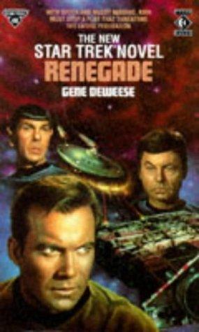 9781852863562: Renegade (Star Trek)