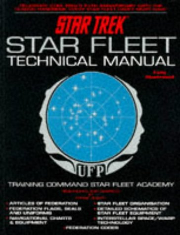 "9781852863968: ""Star Trek"" Star Fleet Technical Manual"