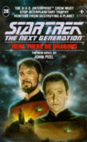 9781852865030: STAR TREK: THE NEXT GENERATION: Here There be Dragons (#28)