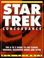 """9781852866761: """"Star Trek"""" Concordance: The A-Z Guide to the Classic Original Television Series and Films"""