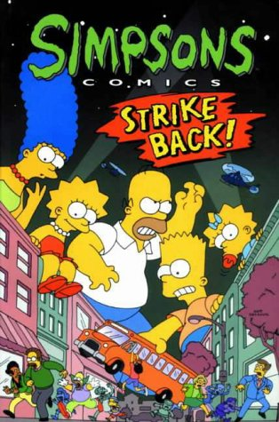 9781852867645: Simpsons Comics Strike Back