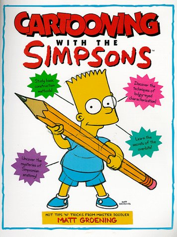 "Cartooning with ""The Simpsons"" (185286950X) by Matt Groening; Bill Morrison"