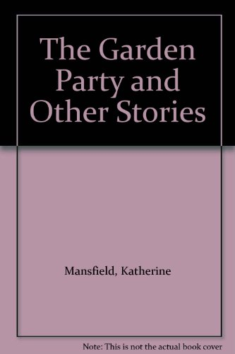 9781852900076: The Garden Party and Other Stories