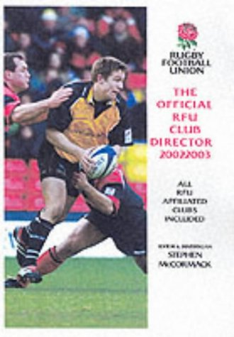 9781852916459: The Official RFU Club Directory 2002-2003