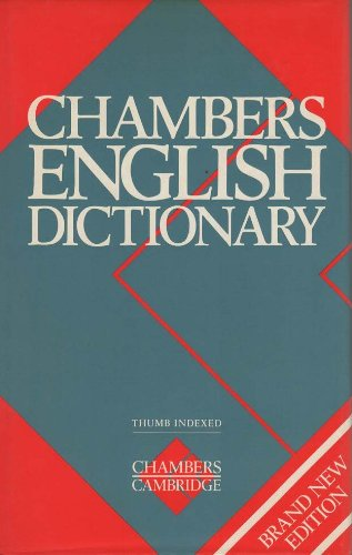 9781852960018: Chambers English Dictionary