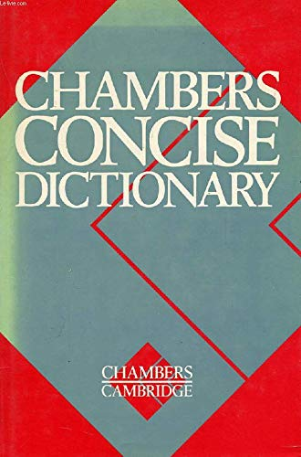 9781852960100: Chambers Concise Dictionary