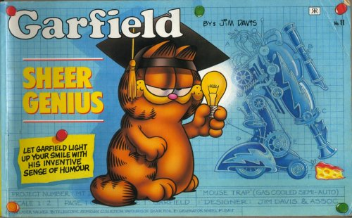 9781853040382: Garfield - Sheer Genius (Garfield landscape books)