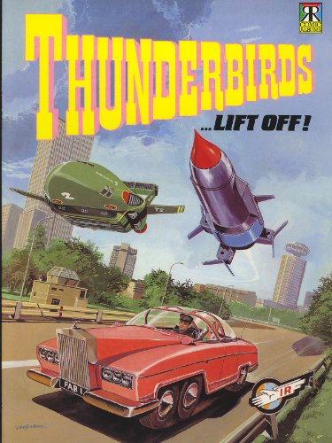Thunderbirds Comic Albums: Lift Off (9781853044601) by Anderson, Gerry; Fennell, Alan