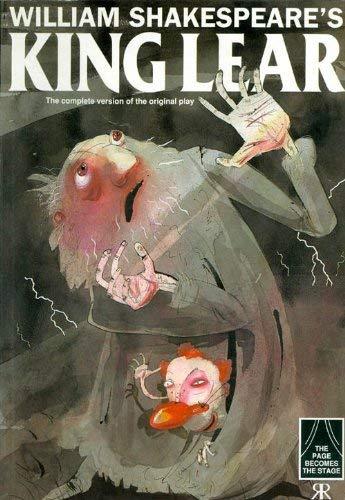 9781853046537: King Lear (Cartoon Shakespeare)