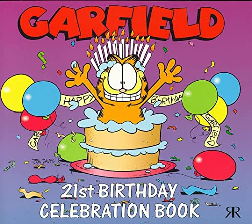 9781853049958: Garfield 21st Birthday Celebration Book (Garfield miscellaneous)
