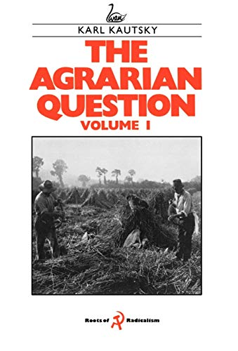 9781853050237: 001: The Agrarian Question Volume 1 (English and German Edition)