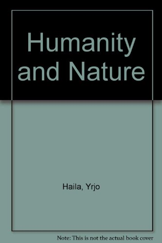 9781853050411: Humanity and Nature: Ecology, Science and Society
