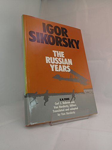 9781853100123: Igor Sikorsky: The Russian Years