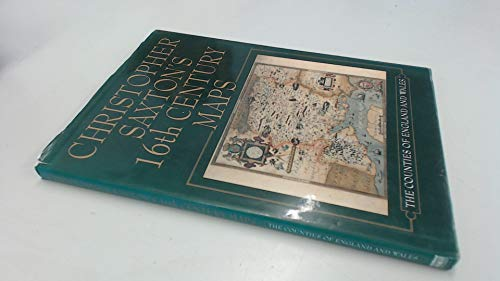 9781853103544: Christopher Saxton's Sixteenth Century Maps