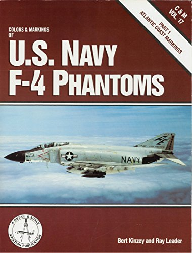 9781853106248: Us Navy F-4 Phantoms: Atlantic Coast Markings Part 1 (Colour & Markings)