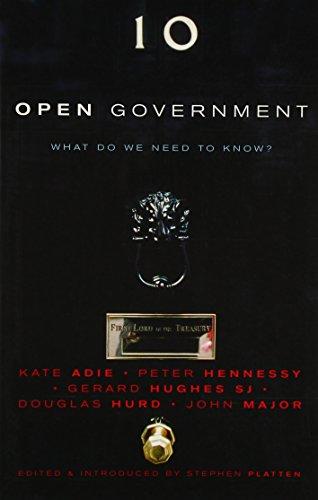 Open Government (9781853114823) by Stephen Platten