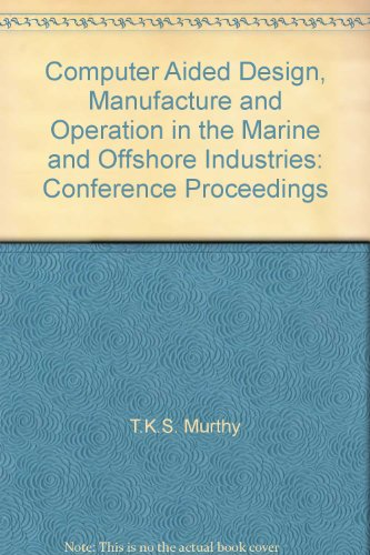 Computer methods in marine and offshore engineering: Murthy, T. K.