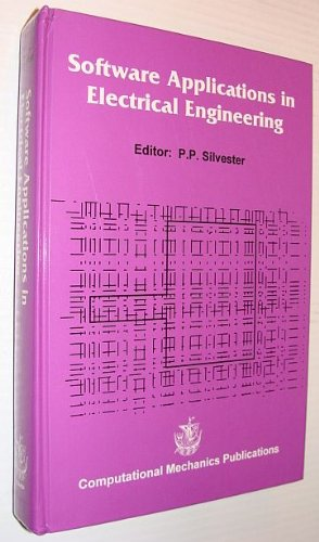 9781853122408: Software Applications in Electrical Engineering
