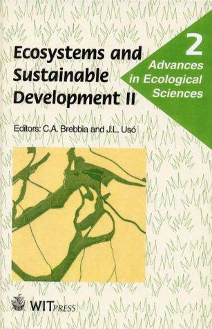 Ecosystems and Sustainable Development II (Advances in: C. A. Brebbia,