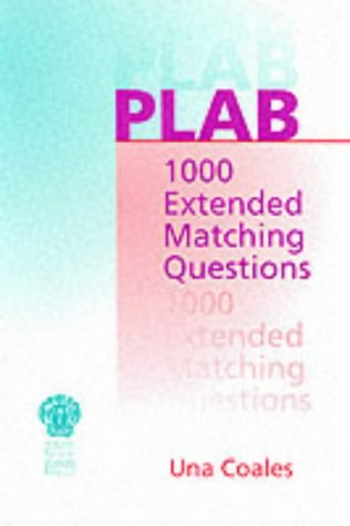9781853154720: PLAB: 1000 Extended Matching Questions