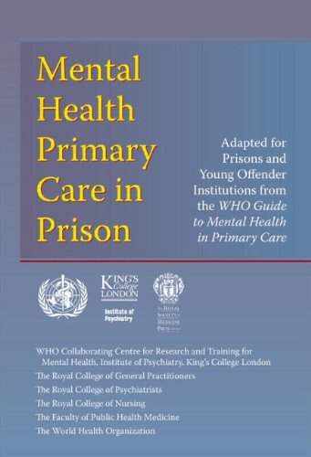 9781853155239: WHO guide to Mental health primary care in prison (Round Table)