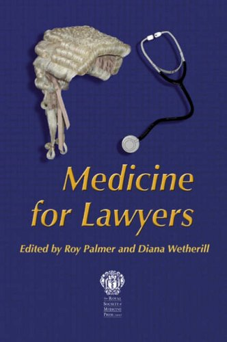 9781853155482: Medicine for Lawyers