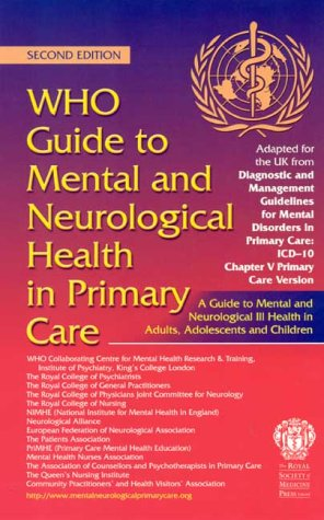 9781853155604: WHO Guide to Mental and Neurological Health in Primary Care