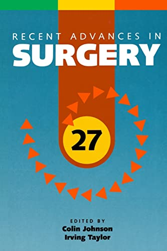 Recent Advances in Surgery 27: CRC Press