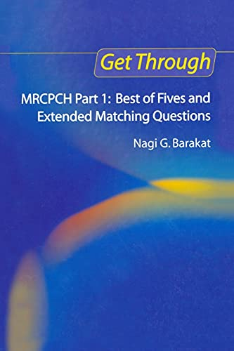 9781853156588: Get Through MRCPCH Part 1: Best of Fives and Extended Matching Questions