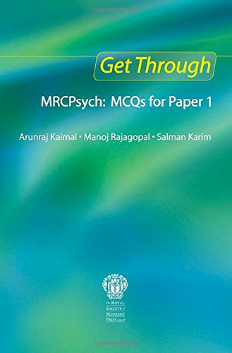 9781853158438: Get Through MRCPsych: MCQs for Paper 1