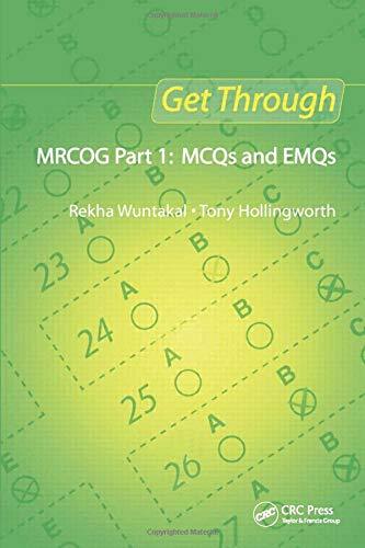 9781853159718: Get Through MRCOG Part 1: MCQs and EMQs